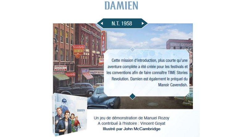 T.I.M.E Stories Revolution – Damien