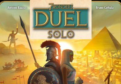 7 Wonders Duel en Solo